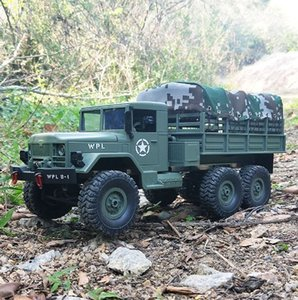 B16 B16 1:16 WPL Гусеничный 6WD 2.4G Off-Road Remote Control 15 км Автомобиль / H Top Speed Mini RC Monster Truck MX200414