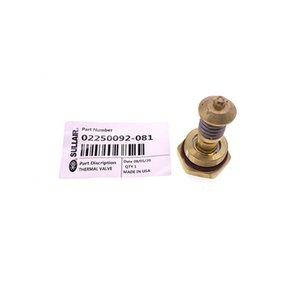El envío libre 4pcs / lot 02.250.092-081 Sullair LS10 de control de temperatura del compresor de aire de la válvula del termostato de la válvula kit núcleo de la válvula térmica