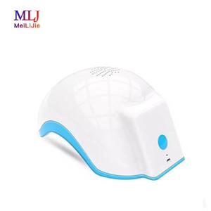 Laser LED RF Repousse cheveux lumière électrique Massager Scalp Scalp Stimulateur machine soin des cheveux de croissance électrique