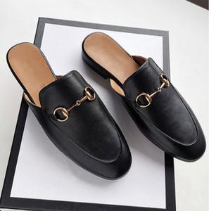 En cuir véritable loisir temps de demi-caractère de soutien cool Slipper femme Ma Xiankou Muller Chaussures Lambin seule chaussure concepteur de marque haut de gamme