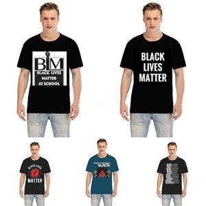 Черные Lives Matter! Acme De La Vie Adlv Brand Designer Лучшие качества Мужчины Женщины T-Shirt Мода Печать Тройники с коротким рукавом # 2021 # 95430