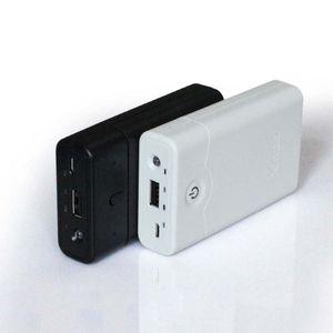 Черный 18650 Мобильный Блок Питания Параллельный Батарейный Блок Power Bank 3 Секционный Корпус Питания Мобильного Телефона
