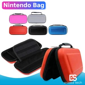 Carry Case Box with Handle for Nintendo Switch Console Game Hard Protective Bag EVA Protective Hard Case Travel Carrying case