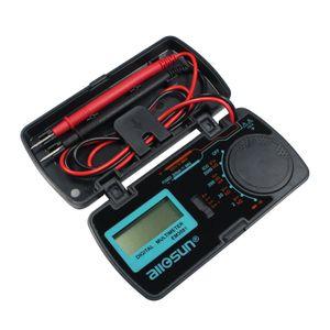 Todos Multímetro Sun Autorange Digital 3 2/1 dígitos, Indicação de bateria fraca proteção de sobrecarga modo de dados-hold EM3081 $
