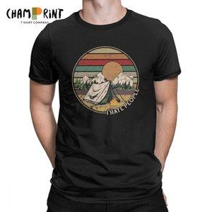 Love Camping I Hate People Vintage Divertente Magliette per uomo Campeggio Escursionismo Maglie a manica corta Regalo Tees T-shirt girocollo in cotone Y19072201