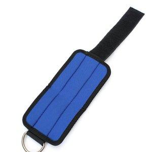 Deporte Zapato con cierre de anillo en forma de D-Multi-gym Adjunto de Formación del muslo de la pierna de la polea de la correa de la aptitud del tubo de elevación del tobillo