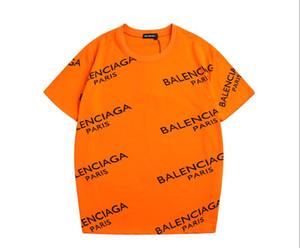 Yaz erkek Severler tasarımcı t shirt Harajuku streetwear yeni ürün Klasik Mektup Baskı tişört Gelgit Marka açık spor shi