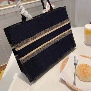 5A + Sac livre de fourre-tout brodé Sac fourre-tout haut qualité sac à main sacs de femmes Sac à bandoulière # 1
