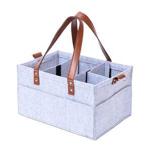Panal Caddy Organizador del bebé caja de almacenamiento portátil de coches Organizador Baby Shower regalos X5XE