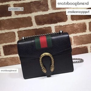 2020 QMM3 Top Quality Celebrity design Letter Ribbon Metal Buckle Shoulder Chain Cowhide Leather Woman 421970 Crossbody Messenger Bag
