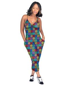 3Y306 Mulheres estilista de macacão Gallus Jumpsuit Sexy Romper elegante roupa elegante pulôver de macacão confortável