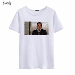 The Summer Office Michael Scott I Am Dead Inside Female Fun New Friends Print Tv Show Short Sleeve Harajuku Shirt Tops