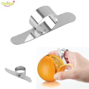 Delidge 1 pc de acero naranja pelador inoxidable de la herramienta Easy Open Naranja Limón Parer de Policía de la fruta herramientas vegetales de la cocina Gadget