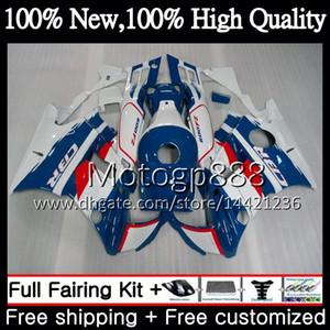 Vücut Honda CBR 600F2 93 FS CBR600 F2 91 92 93 94 AAPG16 CBR600FS CBR 600 F2 CBR600F2 1991 1992 1993 1994 Mavi Beyaz Peraz