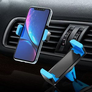 Gravity Car Holder For Phone in Car Air Vent Clip Mount No Magnetic Mobile Phone Holder GPS Stand For iPhone11 Pro XS MAX 8 7 6