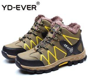 Sıcak İş Güvenliği Ayakkabı Erkek Çelik Burun Kış PU Deri İş Boots For Men Nefes Aşınma dayanıklı Emniyet Boots Büyük Boyut