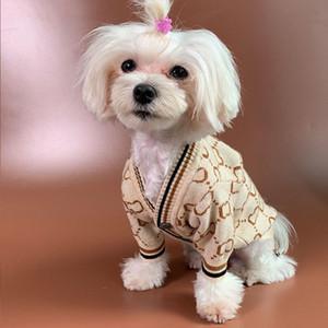 Novo Outono Inverno Pet Sweater Sweater Hip Hop Estilo De Cão De Cão De Alta Rua Pet Sweater Teddy Bulldog Cão Fato 2 Cor WX9-1763