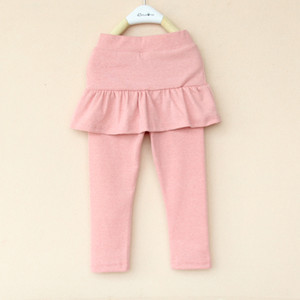 Hot Spring and Fall Sweet Style Cute leggings skirt pants girls baby girl legging pantskirt slim stretch leggings trousers tutu skirt pants