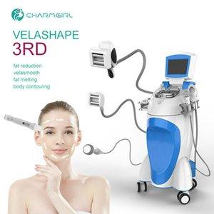 Velashape laser perdita di peso corporeo vuoto sagomatura cavitacion grasso rf dimagrante macchina velashape vacuum terapia non invasiva