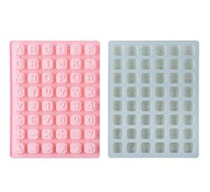 Backen-Werkzeuge Kuchen Brief-Form-Silikon-Schokoladen-Alphabet-Form-Form für die Ice Chunk DIY Geschenk Maker Pudding Süßigkeiten Craft Mold