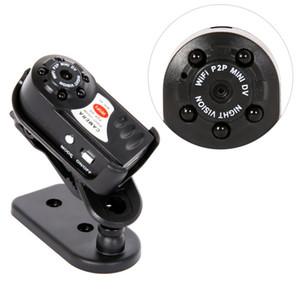 Q7 cámara Mini DV DVR 480P WiFi inalámbrico IP del P2P Cam Nuevo Mini grabador de vídeo de infrarrojos de visión nocturna pequeña videocámara