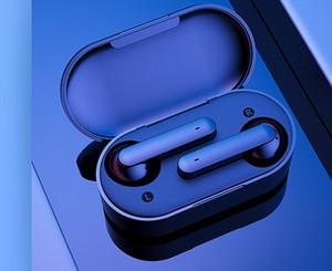 QCY T3 TWS Беспроводные наушники Bluetooth V5.0 3D стерео наушники с двумя микрофонами Наушники с шумоподавлением