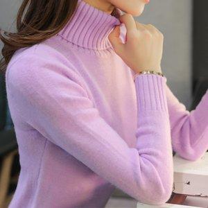 New Women's Turtleneck Sweater Women Sweaters Fashion Jersey Women Winter 2020 Autumn Pullover Thicken Sweater Jumper