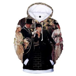 3D Printed Mens конструктора Толстовки вскользь Смешной Характер Отпечатано Дизайнер пиджаков Пуловеры Мужская одежда