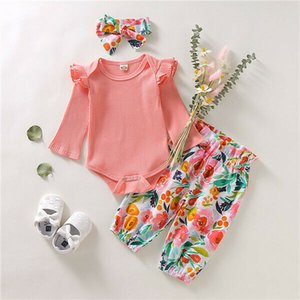 Autumn Clothes Newborn Kids Baby Girls Clothes T-shirt Tops Dress+Leggings Pants Outfits Set 0-18 months