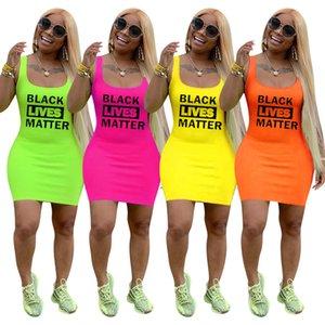 Sommer Frauen Brief prin Kleid Frauen Hemdentwerferfußball t kleidet reizvollen beiläufigen gedruckten Damen Sommerfrau Kleidung kleiden