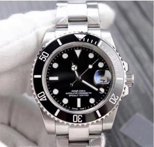 2020 Черный люкс Керамические ободок Мужчины Механические SS 2813 Мужская мода Спорт автоподзаводом Часы Дизайнерские часы мужские Наручные часы