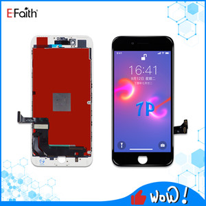 Display LCD di alta qualità a cristalli liquidi per iPhone 7 Plus touch Digitizer Assembly Buone Le sostituzioni di riparazione con trasporto libero del DHL