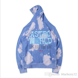 Travis Scott Astroworld Herren Hoodie Designer Fleece Sweatshirts freies Verschiffen Stickerei-Hip Hop Pullover New Travis Hoodies