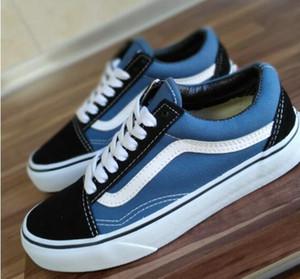 Chaussures de sport pour les femmes des hommes de planche à roulettes Low Cut Casual chaussures de sport Old Skool Chaussures de toile classique 36-45
