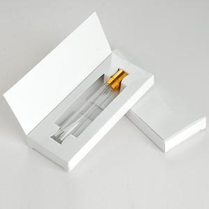 5ml 10ml kosmetischer Sprüher Reise Pot Tragbare Durable Leere nachfüllbare Duftstoff Minizerstäuber Flasche mit Kasten-Verpackung