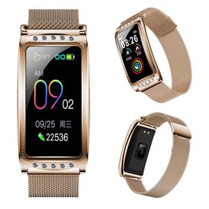 Smart Bracelet Ovulation Monitor Physiological Period Reminder Smart Watch Blood Pressure Blood Oxygen Monitor Wristwatch For Android iOS