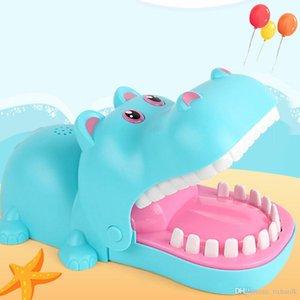 Бегемот Стоматолога игра смешной Укусы Finger Hippo Стоматолог игра игрушка для детей Family Fun интерактивной доски игры