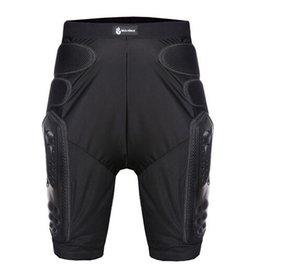 Бесплатная доставка Популярные бренды Hockey мотоциклов брюки сетки с броней по бездорожью мото- шорты брюки защитное снаряжение