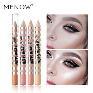 Menow Sourcils surligneurs Crayon Brighten Pearly Luster Correcteur Ombre à paupières Pen P134 stéréo Sourcils haut Brow Glow