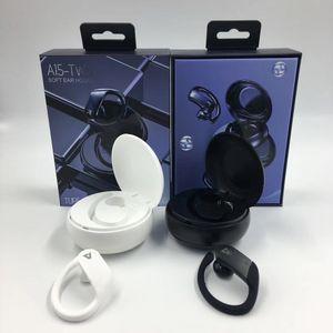 A15 TWS Hook Ear Ouvrez le couvercle sur les deux côtés étanche sans fil écouteurs stéréo Bluetooth Smart magnétique sport Casque