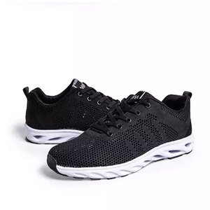 with free socks 2020 luxury fashion black men casual shoes Designer sports sneaker outdoor Breathable Jogging running shoes 36-46
