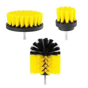 3 teile / satz Power Scrubber Brush Drill Brush Clean für Badezimmeroberflächen Badewanne Dusche Fliesenfugen Cordless Power Scrub Cleaning Kit