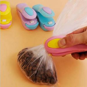 비닐 봉투 음식 보호기 저장 씰링 기계 휴대용 미니 열 씰링 기계 자기 바닥 가정용 씰러 인감 포장 BC BH1354