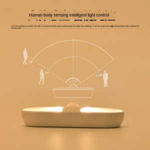 Inductive intelligent head lamp night lamp control human body inductive bedside baby feeding light charging corridor night light