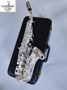 Yanagisawa Curved Soprano Saxophone S-901 Silvering Musical instrument Mouthpiece professional performance Free shipping