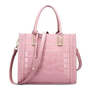 Luxury Handbag Fashion Top Handle Bag Real Leather Croco Tote Bag Fashion Shoulder Purse For Women