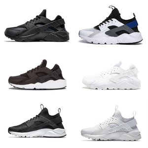 Venda Outdoor Huarache 1.0 4.0 Homens Running Shoes sapatilhas do desenhista da listra Cheap Air Red Balck White Rose Huaraches Mulheres instrutor respirável