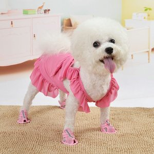Hot spring summer new thin light breathable cute pet clothes pajama cat Teddy small dog dog supplies