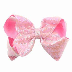 Hair Bow Fashionable style Sequined bow hair clips korean popular headwear maid alternative colours high quality wholesale custom