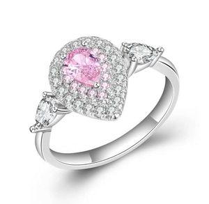 anéis de casamento simples da senhora define Nova na moda nupcial Moda jóias anéis promessa Moda Amor token Hight qualidade Drop Shipping